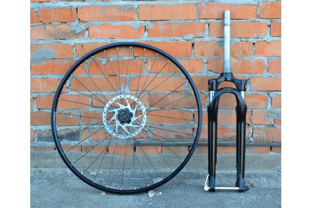 Комплект Вилка SF17+колесо 28